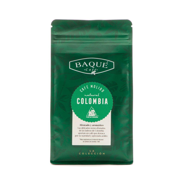 Café molido Colombia, 250 g.