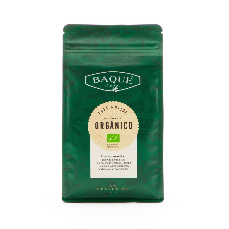 Café molido Orgánico, 250 g.