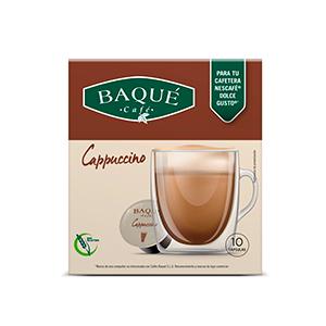 Cappuccinoa, 10 kapsula bateragarriak Dolce Gusto®-rekin